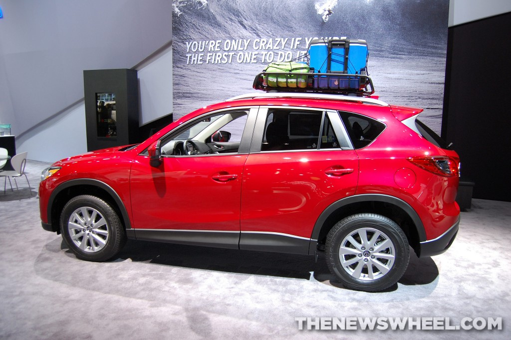 New Crossover Mazda CX-3 Shares a Lot With Mazda2